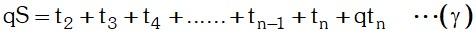 Ejercicio 5 Notación de una Progresión Geométrica