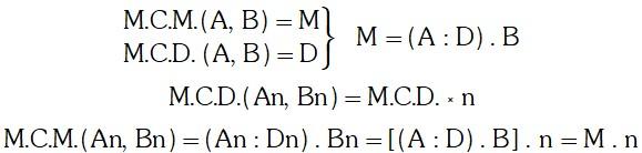 Ejercicio Propiedades del M.C.M. de Dos Números