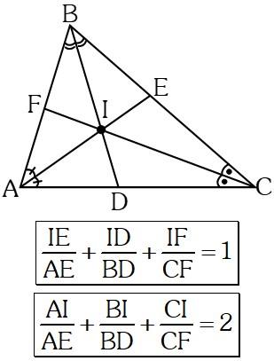 Ejercicio Teorema del Incentro y el Baricentro