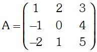 Ejercicio de Matriz de Orden Tres
