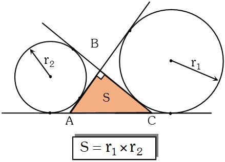 El Área de un Triángulo Rectángulo