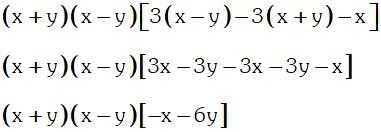 Extrayendo Factor Comun 3 de Factor Comun y Agrupacion de Terminos