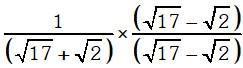 Factor Racionalizante 3 Leyes de los Exponentes