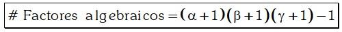 Factores Algebraicos