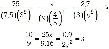 Formula Ejercicio 2 de Magnitudes Proporcionales