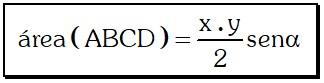 Formula General Áreas de Regiones Cuadrangulares