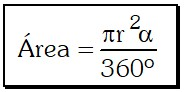 Formula Sector Circular