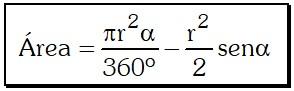 Formula Segmento Circular