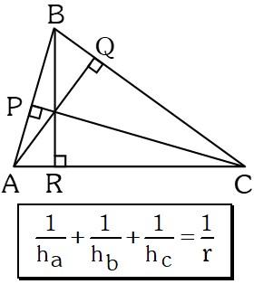 Formula de Alturas