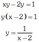 Formula de Dominio y Rango