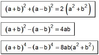 Formula de Identidades de Legendre