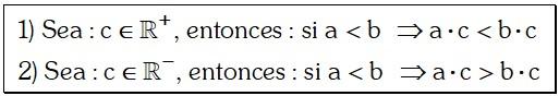 Formula de Ley Multiplicativa