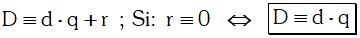 Formula de Teorema 1 Divisibilidad de Polinomios