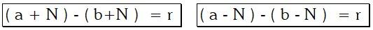 Formula de las Razones Aritméticas o por Diferencias