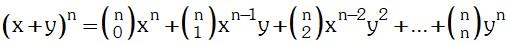 Igualdad de Teorema de Potenciacion