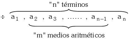 Medios Aritméticos o Medios Diferenciales