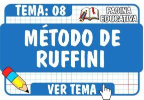 Método de Ruffini