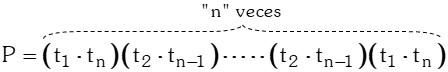 Multiplicacion 4 Notación de una Progresión Geométrica