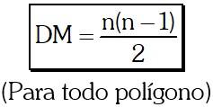Número de Diagonales Medias