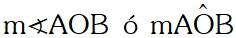 Propiedad Notación de Ángulos