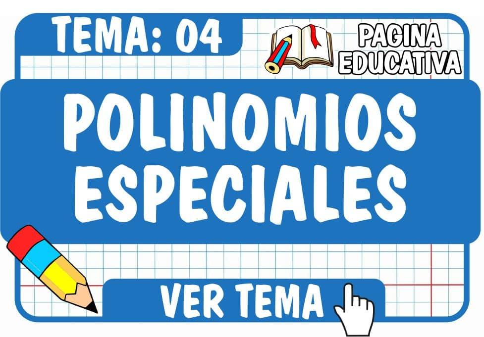 Polinomios Especiales