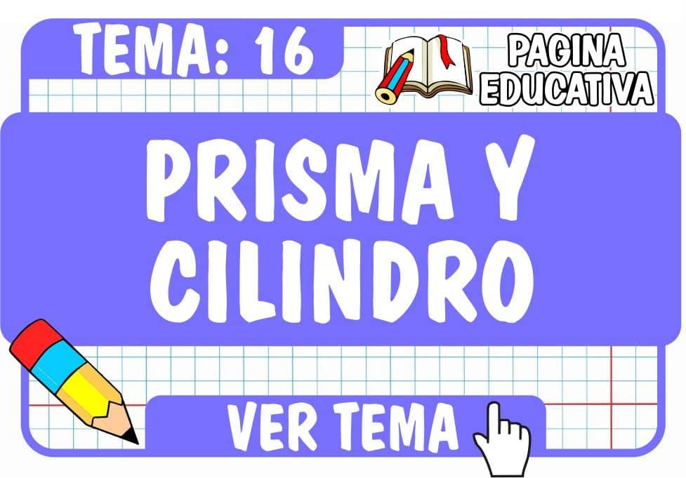 Prisma y Cilindro