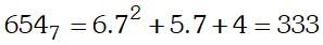 Proceso Ejemplo 2 de Sistemas de Numeración