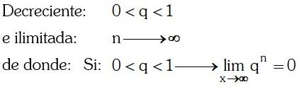 Progresión 6 Notación de una Progresión Geométrica