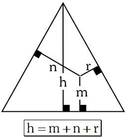 Propiedad 1 de los Triángulos Equiláteros