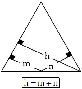 Propiedad 1 de los Triángulos