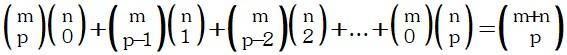 Propiedad 11 de Coeficientes Binomiales