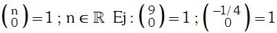 Propiedad 2 de Coeficientes Binomiales