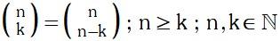 Propiedad 4 de Coeficientes Binomiales