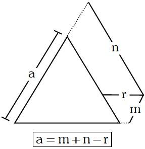 Propiedad 4 de los Triángulos Equiláteros