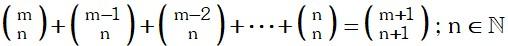 Propiedad 6 de Coeficientes Binomiales
