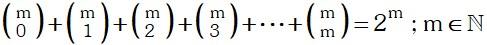 Propiedad 8 de Coeficientes Binomiales