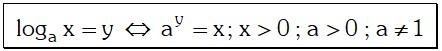 Propiedad Notación de Logaritmo