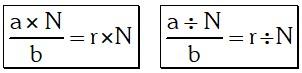 Propiedades De Las Razones Geométricas O Por Cocientes