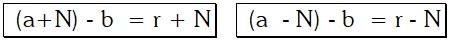 Propiedades de las Razones Aritméticas o por Diferencias