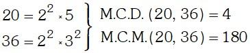 Propiedades del M.C.M. de Dos Números