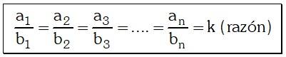 Propiedades para una Serie de Razones Geométricas Equivalentes