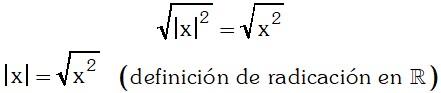 Raiz Cuadrada Teorema 4 de Valor Absoluto