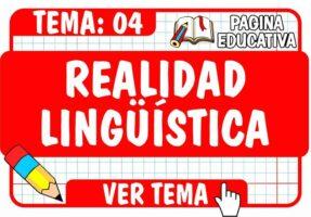 Realidad Lingüística