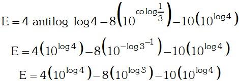 Resolucion 7 de Logaritmo