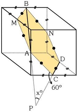 Resolución Ejemplo 1 de Ángulos Diedros y Poliedros