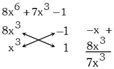 Resolucion Ejemplo 3 de Factorizacion por Aspa Simple