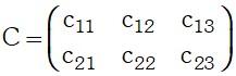 Resolucion de Multiplicación de dos matrices