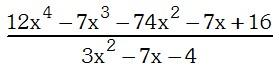Resolucion del Ejemplo del Metodo de Horner