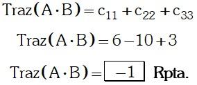 Respuesta 2 de Matrices