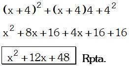 Respuesta 4 de Cocientes Notables